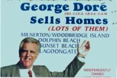 George Dore sells homes ...Lots of them
